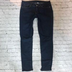 H&M stretch skinny jeans sz 12